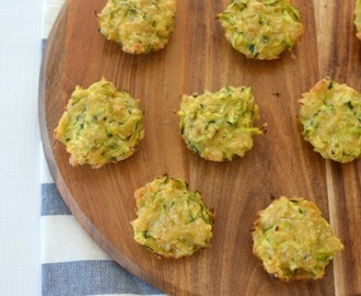 Thermomix Cheese and Zucchini Bites