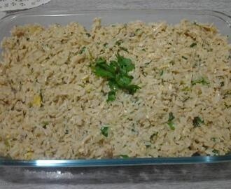 Arroz com maionese do Alex