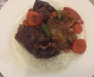 SIPHOKAZI'S OXTAIL WITH BALSAMIC