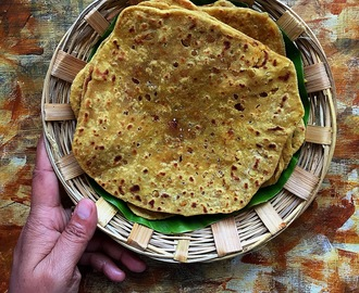Paruppu Poli Recipe |  Quick, Easy and Low Calorie Poli Recipe Using Whole Wheat Flour | Sweet Indian Flat Bread