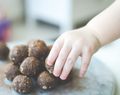Toddlers in the Kitchen: No Bake Bliss Balls