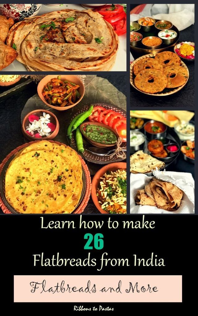 Flatbreads and More – How to make 26 Indian Flatbreads