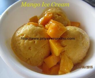 Mango Ice cream /Mango Ice cream with No Eggs/Mango Ice cream with No Ice cream Maker