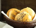 Golden Seeded Bread Rolls