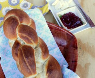 Z for Zopf / Züpfe | Swiss Braided bread