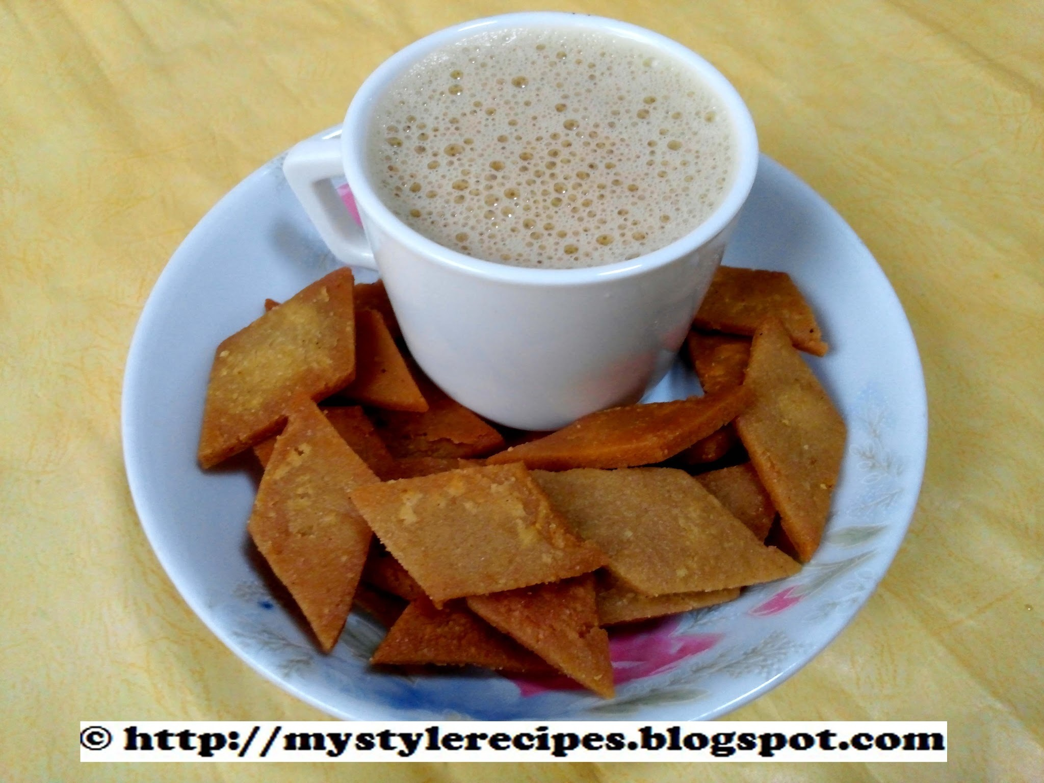 Multigrain Atta Diamond Cut Biscuits | Fried Diamond Biscuits | Indian Snacks