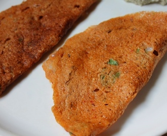 Sorghum Adai Dosa Recipe / Jowar Adai Recipe / Cholam Adai Recipe - Millets Recipes