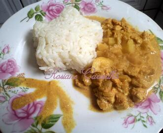 Frango ao curry