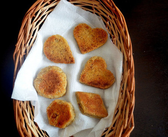 Whole Wheat Cookies Recipe in Cooker- How to make Cookies in Pressure Cooker