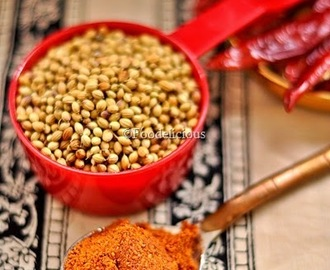 Karnataka Style Spice Mix For Curry–Palyada Pudi | पल्या पुडी |Dairy Free | Gluten Free | Step Wise