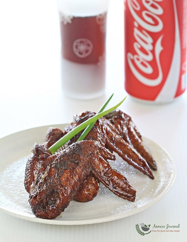 Coca-Cola Chicken Wings 可乐鸡翅