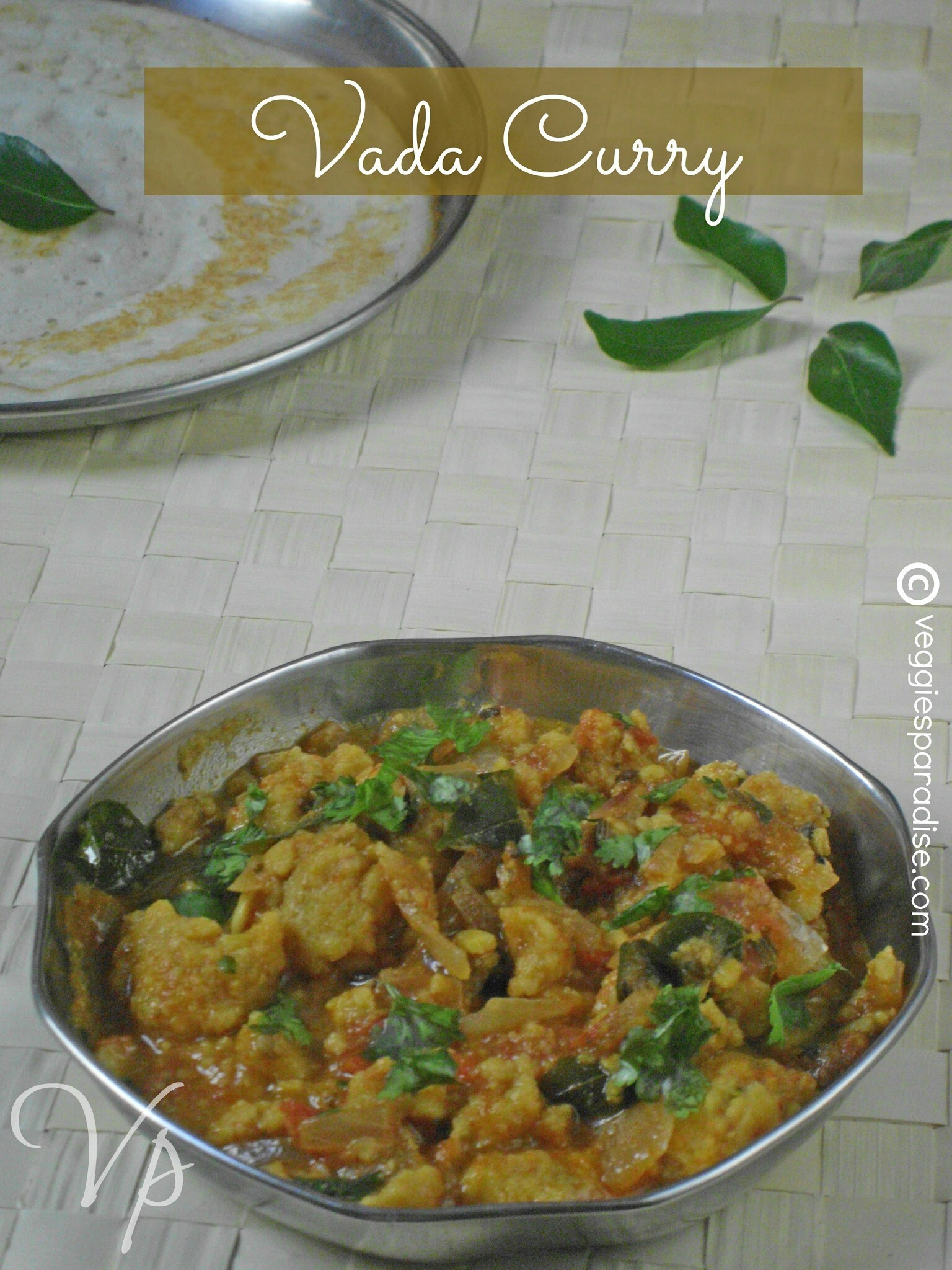 VADA CURRY RECIPE | SIDE DISH FOR IDLI,DOSA,POORI