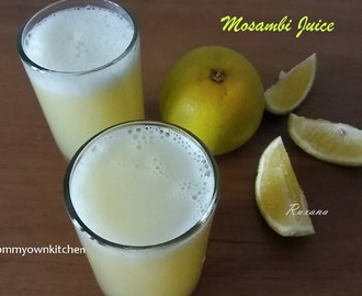 Mosambi/Sweet Lime Juice