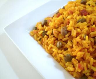 Rice With Pigeon Peas - Arroz Con Gandules