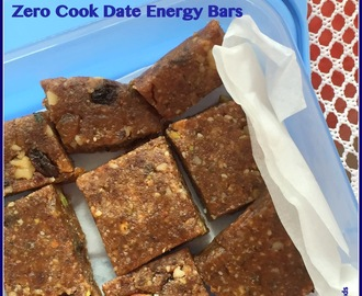 Zero Cook Dates Energy bars