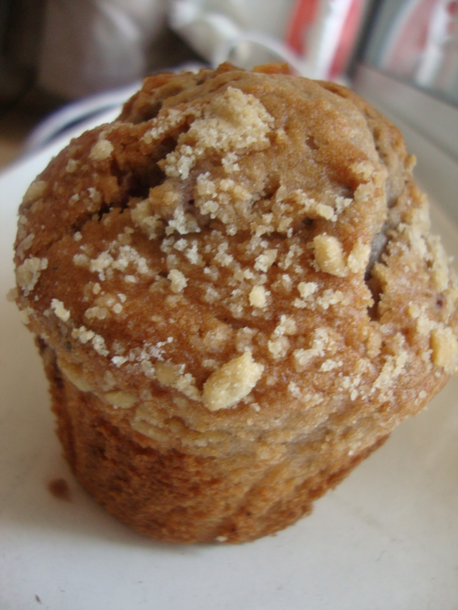 Eggless Blueberry Muffin