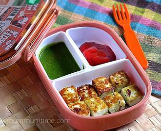 Paneer Tikka for Toddlers and Kids