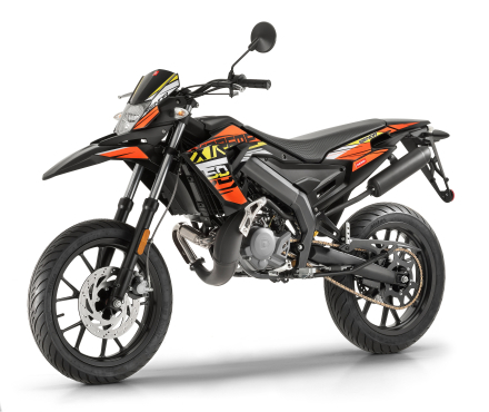 Derbi Senda DRD X-Treme 50 SM E4 Orange/svart