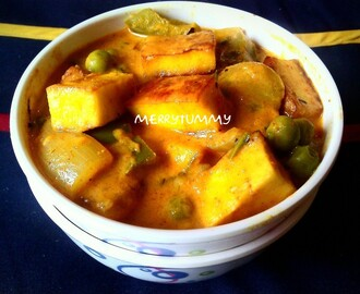 Paneer Butter Massla/ Cottage Cheese In Creamy Gravy