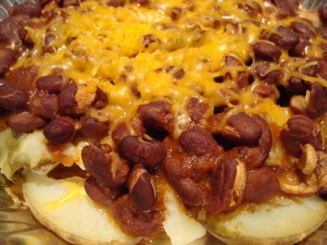 Mexican Taters and Beans