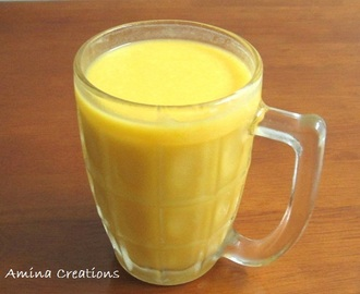 MANGO ICE CREAM SHAKE