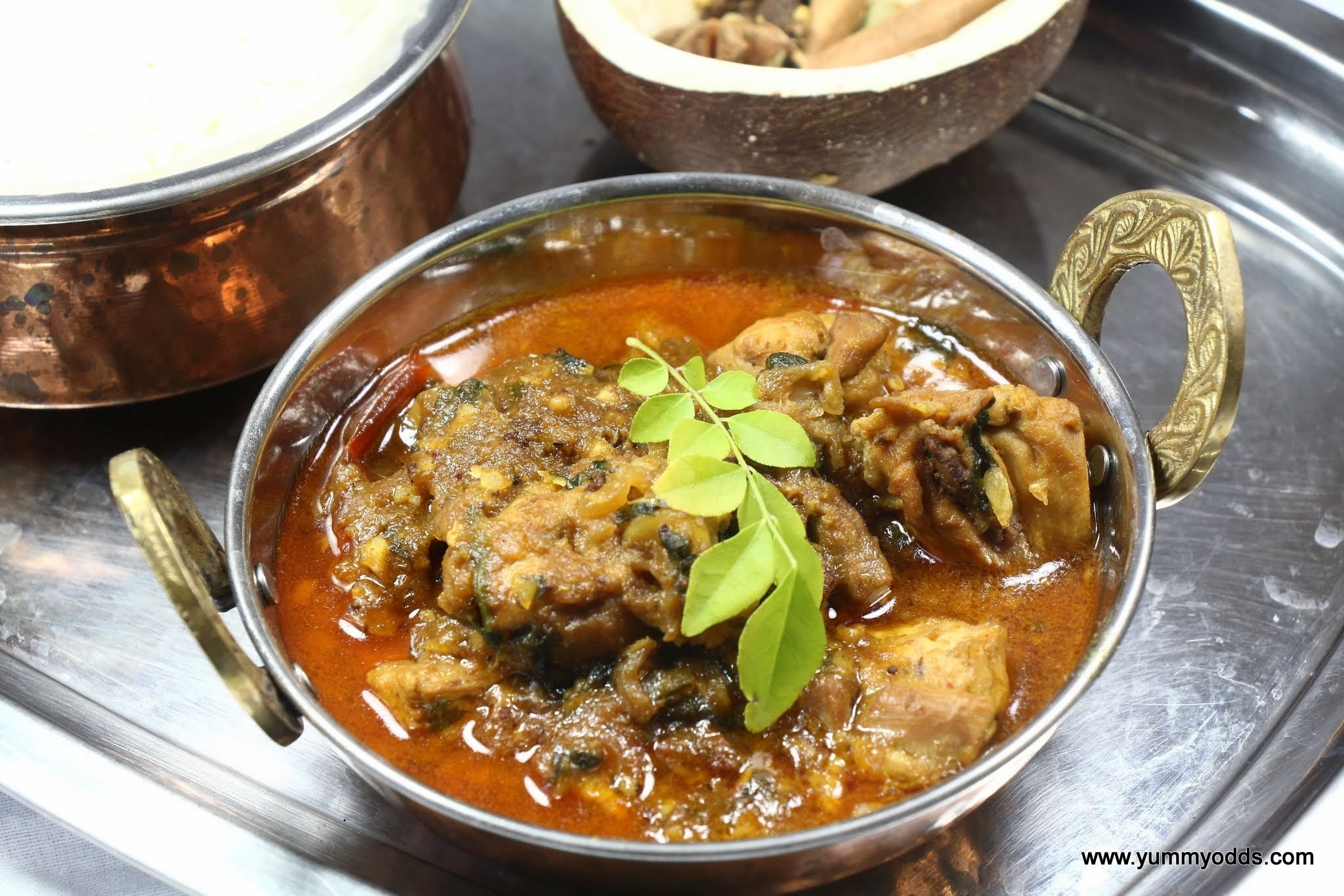 Authentic Kerala Chicken Curry