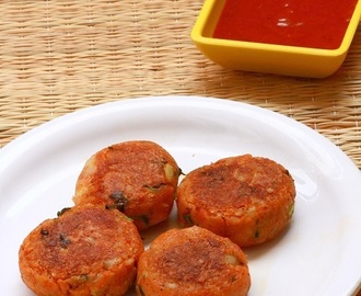 Aloo Tikki Recipe-How To Make Aloo Tikki-Potato Patties