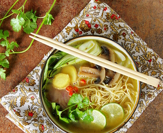 Pho-Inspired Asian Noodle Soup