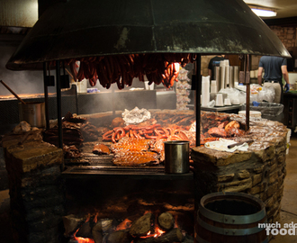 Wander Over to Salt Lick in Driftwood for BBQ with a View