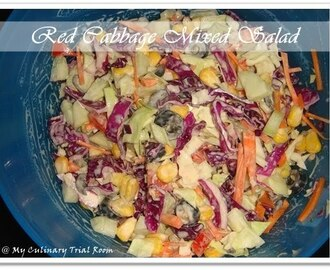 Red Cabbage Mixed Salad