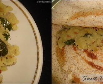 Sweet Potato Podimas/Masala ~ a Dosa stuffing too...
