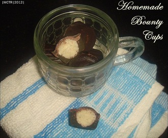 Easy Homemade Bounty Cups | Easy Gifting Ideas