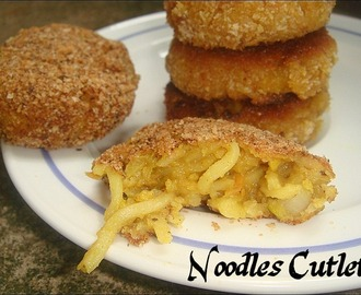 Noodles Cutlet / Tikki - Bake or Toast 'em