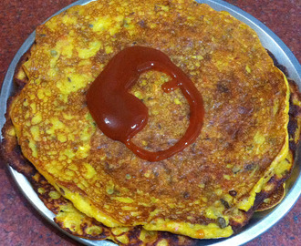 Leftover daal pancakes/cheela recipe