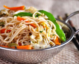 Vegetable Chow Mein – Chinese Veg Noodle Stir-Fry