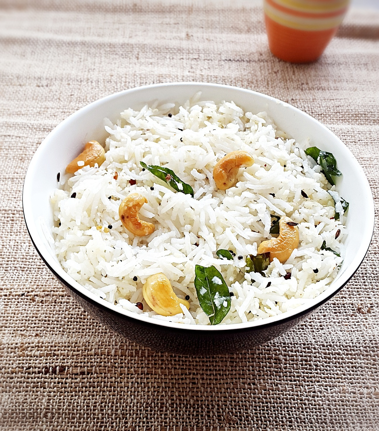 Coconut rice recipe – How to make easy Indian coconut rice