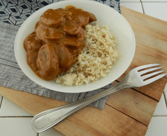 {plat} Curry de champignons (vegan)