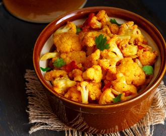 Dry Cauliflower Curry | Dry Gobi Sabji - No Onion No Garlic Recipe