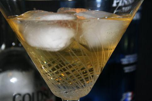 Mom's Apple Pie Martini