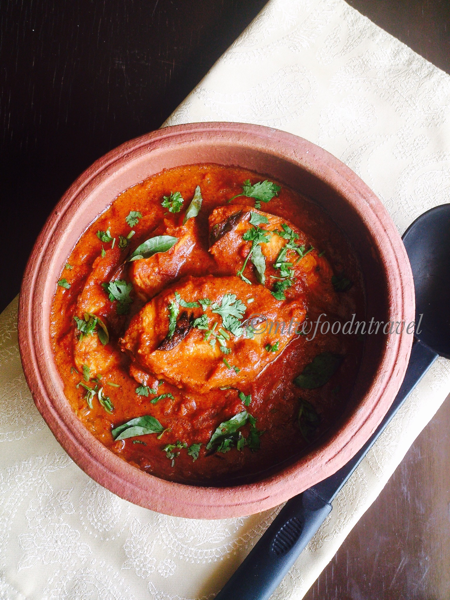 MANGALORE FISH CURRY/MEEN GASSI - FISH CURRY SERIES