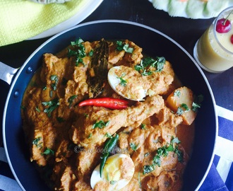 MA'S SIMPLE QUICK CHICKEN CURRY/MAYER JHOTPOT MURGIR JHOL- RECIPE OF LOVE