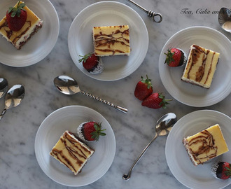 Strawberry, Coconut and Chocolate Cheesecake
