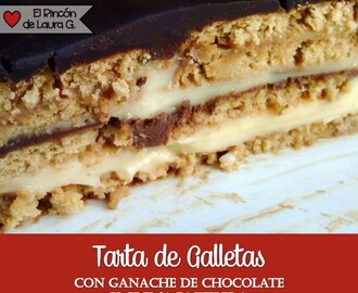 Receta Tarta de Galletas y Chocolate