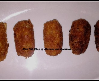 Macher Chop / Mini Fish Cutlet/ Use of Leftover Fish Fillet
