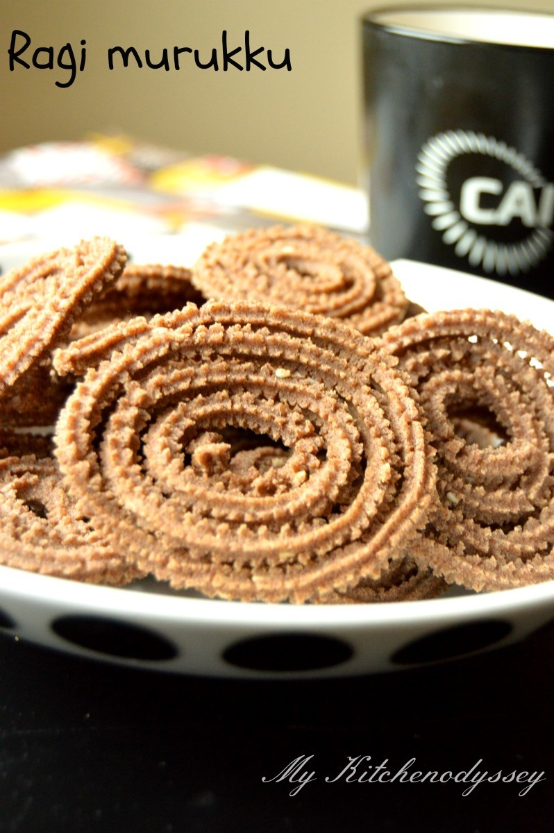 Ragi Murukku Recipe  | Diwali Snack Recipes | Healthy Indian Snack Recipes | Ragi Flour Recipe