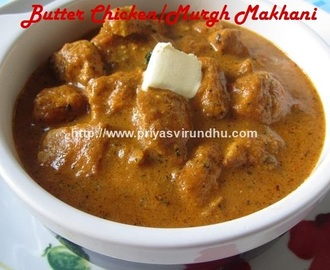 Butter Chicken Recipe/Murgh Makhani