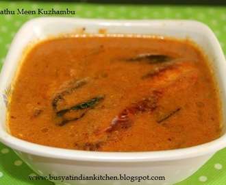 Gramathu Meen Kuzhambu (Village Style Fish Curry)
