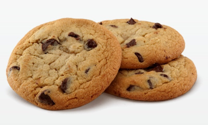 Receta de Chocolate Chip Cookies, las típicas Galletitas Americanas con chispas de Chocolate