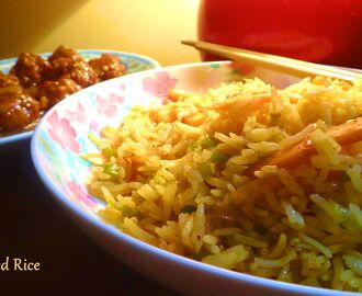 Veg. Fried Rice Recipe.