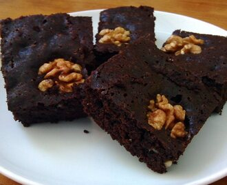 Receta de Brownie de Chocolate sin gluten